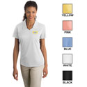 LADIES' NIKE DRIFIT MICRO PIQUE POLO