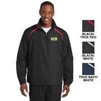 MEN'S SPORT-TEK 1/2-ZIP WIND SHIRT